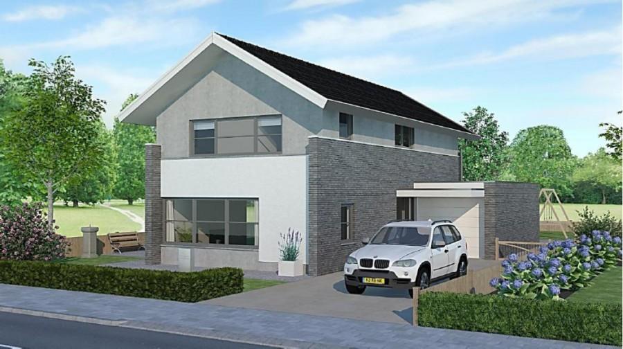 Algra marechal architecten bornsche maten projectbureau - Huis in de moderne ...