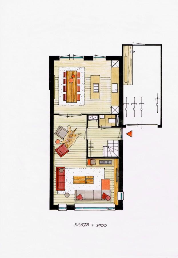 Aalscheer 11, Groene Hof type E1_E1sp