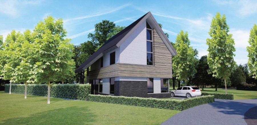 Building design architectuur bornsche maten projectbureau - Fotos van eigentijds huis ...